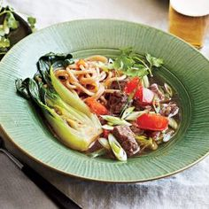 Sichuan Beef Soup - Healthy Chinese Recipes - Cooking Light Mobile