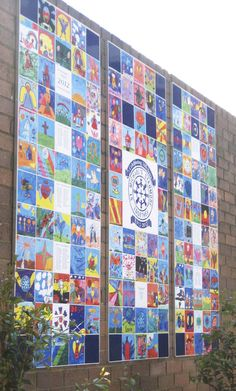Leave your mark with this stunning #wall #mural for your school. Great celebration piece and fabulous #fundraiser.