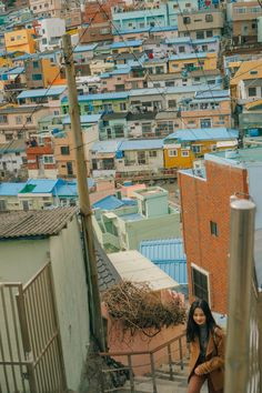 For most travelers, Gamcheon Cultural Village tops the Place to Visit in Busan, South Korea. Busan South Korea, South Korea Travel, Cool Places To Visit, Places To Go, Village Map, Filming Locations, 1 Place, Beautiful Places, Culture