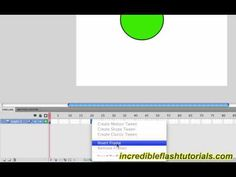 Adobe Flash Tutorial- How to Tween