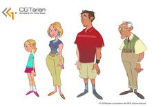 """brittanymyersart: """"Here's some character design work I did a few months ago for CGTarian for upcoming character rigs. CGTarian is a great online animation & visual effects school! Here's a link,. Character Rigging, 3d Model Character, Game Character Design, Character Design References, Character Development, Character Design Inspiration, Character Concept, Character Art, Concept Art"""