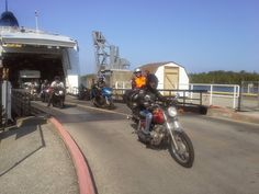 Arriving on the Ferry. Manitoulin Island, Track, Runway, Truck, Running, Track And Field
