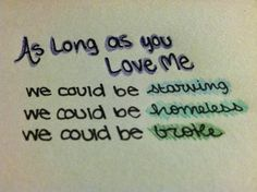 As Long As You Love Me- Justin Bieber