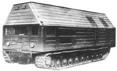 ТЭС-3  貨物列車か何かかな?これ軽水炉が中に詰まってるんだよなぁ()ソ連が60年代に開発した移動式原子炉。地味に車体はT-10重戦車ベースだったりする。オワコンになった重戦車の再就職先としてもそれはどうなんですかね・・・