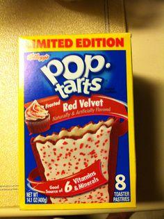 Kellogg's pop-tarts frosted red velvet