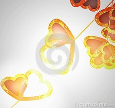 Illuminated touch hearts by Graciela Rossi, via Dreamstime