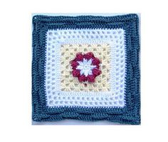 "Ravelry: Basket of Berries - 12"" square pattern by Melinda Miller"