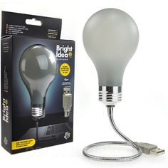 BRIGHT IDEA - USB LIGHT BULB