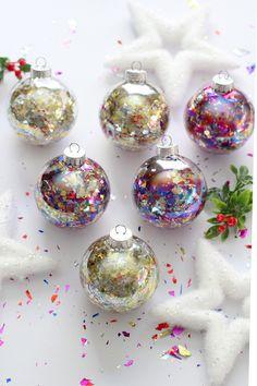 DIY Glitter Confetti