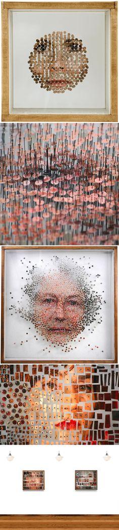 L'artiste Michael Mapes utilise l'univers de la science médicale et des cabinets de curiosités pour mettre en avant ses oeuvres qui dissèquent l'apparence humaine.