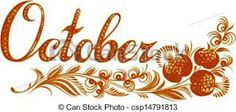 October the name of the month. October name of the month, hand drawn, illustration in ukrainian folk style. October Baby, Hello October, December, October Pictures, October Bulletin Boards, October Libra, Family Birthdays, Birth Month, Months In A Year