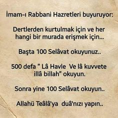 Dertlere derman bir ayet Allah Islam, Arabic Words, Karma, Pray, Quotes, Elsa, Instagram, Prayer, Faith