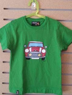 CAMISETA MINI ROJO Mens Tops, T Shirt, Fashion, Fashion Guide, Red, T Shirts, Supreme T Shirt, Moda, Tee