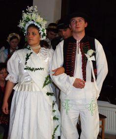 Svadobný pár zo Stankovian, Liptov, Slovensko