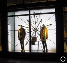 Hugo Boss, more Amsterdam Xmas shopwindows on http://viewonretail.blogspot.nl/ and https://www.facebook.com/viewonretail