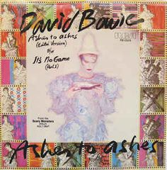 """David Bowie 7"""" Vinyl Record! First Press! Authentic Vintage 1980! David Bowie ~ Ashes To Ashes RCA PB-12078 Near Mint"""