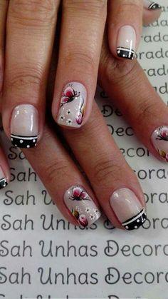 Crazy Nail Designs, Gel Nail Designs, French Nail Art, Crazy Nails, Manicure And Pedicure, Toe Nails, Summer Nails, Pretty Nails, Nail Colors