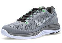 nike lunarglide 5 grey yellow 3 Nike LunarGlide+ 5 Wolf Grey Sonic Yellow  Nike Lunarglide 2c103ce97f