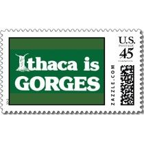 Ithaca is GORGES Postage Stamp by msmoose