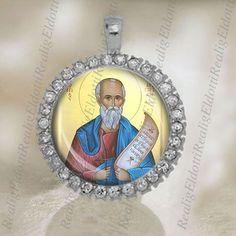 St Aristides Christian Catholic Silver Tone Medal by ElDotti