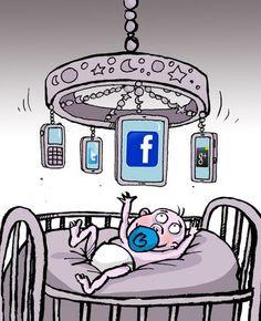 Mobile - Bebes - Humor Gráfico
