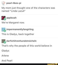 Lol why does pearl stay the same Steven Universe Theories, Greg Universe, Universe Love, Humor English, Cartoon Network Shows, Inside Job, What Is Tumblr, Hetalia, Book Quotes
