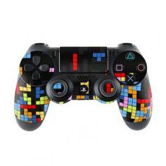Skins4u Sony Playstation 4 Skin PS4 Controller Skins Design Sticker Aufkleber styling Set auch für Slim & Pro - Tetrads