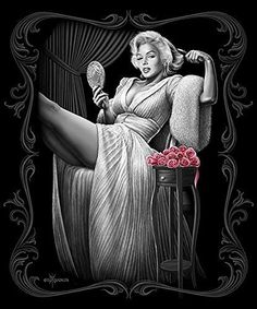 Marilyn Monroe Signature Collection Super Soft Queen Size Plush Blanket - Sitting Pretty 79 inch x 95 inch
