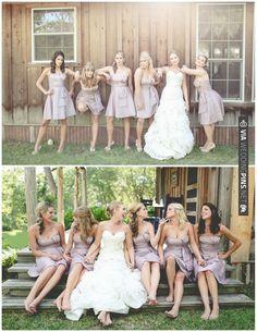 cute lavender bridesmaid dresses | CHECK OUT MORE IDEAS AT WEDDINGPINS.NET | #bridesmaids