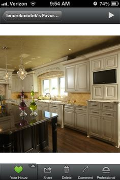 Kitchen cabinets are beautiful