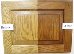 Steps To Staining Cabinets DIY Projects Pinterest Stain - How to restain kitchen cabinets