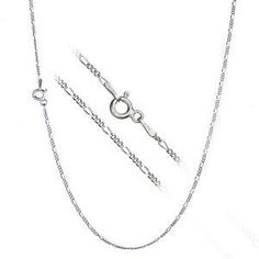 A personal favourite from my Etsy shop https://www.etsy.com/uk/listing/508736630/sterling-silver-figaro-chain-necklace