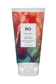 """""""I love that this high-shine cream helps me create the perfect, low power bun — with absolutely no frizz or flyaways. But what I love more? The fact that it sneakily moisturizes my hair all day when I'm wearing it.""""R+Co High Dive Moisture + Shine Crème, $27, available at R+Co. #refinery29 http://www.refinery29.com/best-beauty-products#slide-5"""