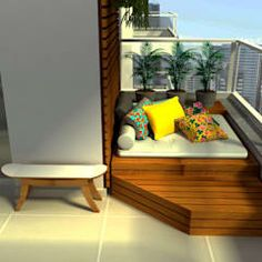 Terrazas de estilo por COB Arquitetura e Design