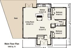 The Blackstone plan. I like the foyer.  Where would the garage go? Laundry? Basement stairs?