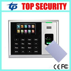 95.00$  Watch now - http://alirin.shopchina.info/go.php?t=32562196637 - TCP/IP USB fingerprint time and attendance time clock time recording with MF card reader 3 inch color screen with free software 95.00$ #magazineonlinewebsite