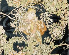 Alphonse Mucha - Wallpaper