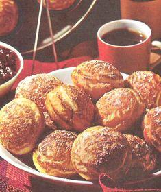Recipes from Sadie Bells Books: Danish Aebleskiver (Bisquick Cookbook, 1964)