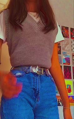 Indie Outfits, Adrette Outfits, Skater Girl Outfits, Teen Fashion Outfits, Retro Outfits, Cute Casual Outfits, Stylish Outfits, Fall Outfits, Vintage Outfits