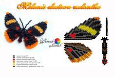 "Схема к бабочке ""Melanis electron melantho"""