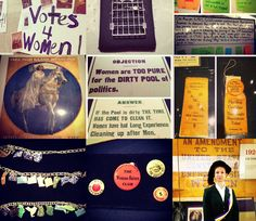 Tomorrow marks the centennial of the 1913 woman suffrage parade in Washington, D.C. We commemorated the event today with artifacts out of storage, a historical interpreter, activities and more.