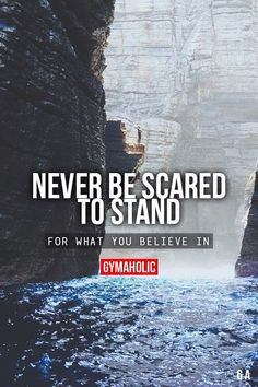 Believe in it and don't be scared to stand for it ;)