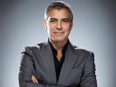 15 Shades of Grey: The Hottest Male Silver Foxes The good ol' favorite, George Clooney. Pictures Of George Clooney, Kentucky, Les Oscars, Oscars 2012, Business Casual Men, Barbra Streisand, Business Dresses, Meryl Streep, Hollywood Actor