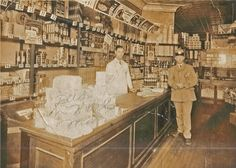NYC store 1900's by moonman82, via Flickr