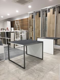 Exclusive pictures from our friends and partners from of the great at their with our Showroom Interior Design, Tile Showroom, Flooring Shops, Office Storage, Tucson, Tiles, Display, Ceramics, Magazine
