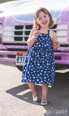 Free Sewing Pattern: Cupcake Dress and Gleeful Blog Hop - BASTE + GATHER