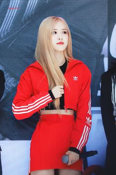 Kpop Outfits, Korean Outfits, South Korean Girls, Korean Girl Groups, Korean Celebrities, Celebs, Blackpink Poster, Rose Park, Park Chaeyoung