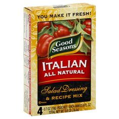Dry Italian seasoning mix