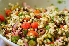 mediterranean eggplant and barley salad | smittenkitchen.com
