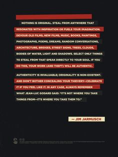 INSPIRATION BOARD: Nothing is original…  See more INSPIRATION BOARD at: http://www.creativemanila.com/category/features/inspiration-board/page/5/
